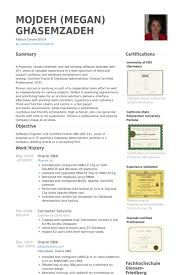 Sample Resume For 2 Years Experience In Software Testing by Dba Resumes Resume Cv Cover Letter