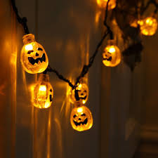 pumpkin led halloween string lights x 30 halloween pumpkin lights