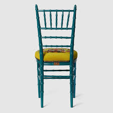 chiavari chair chiavari chair with embroidered tiger gucci chairs 483915zaw033608