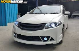 honda civic modified white motor header car accessories online in india bodykits honda