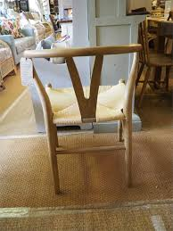 String Chair Columbus Natural Toom Wood And String Chair U0027y U0027 Wishbone Style