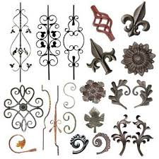 cast iron ornaments wrought iron products