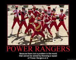 Black Power Ranger Meme - so very true especially when that squad is led by tommy oliver