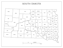 Labeled South America Map by South Dakota Labeled Map