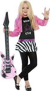 kids costume rock glam girl kids costume toys