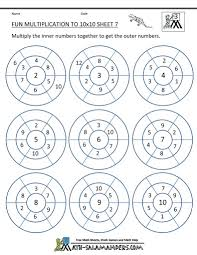 free multiplication coloring worksheets multiplication worksheets