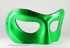 green lantern leather mask masquerade justice league cosplay