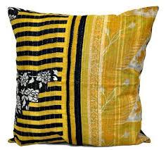 large sofa pillows 24x24 indian kantha throw pillows indian decorative pillow covers