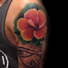 hibiscus tattoos for men pictures to pin on pinterest tattooskid