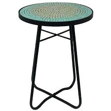 Metal Patio Side Table Patio Accent Table Small Metal Patio Side Tables Holoapp Co