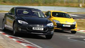 ricer vs tuner here u0027s what a tesla model s can do around the nürburgring
