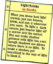 light and shadows lesson plans the magic bus gets a bright idea scholastic