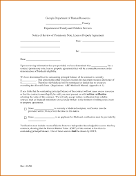 note agreement template choice image agreement example ideas