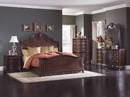 deryn park cherry sleigh bedroom set from homelegance 2243sl 1