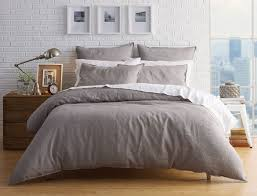 milano silver linen quilt cover bed bath n u0027 table