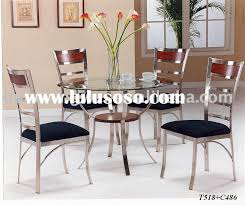 chair metal dining room sets tables and c metal dining tables and