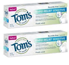 kosher toothpaste list tom s of maine antiplaque fluoride free fennel