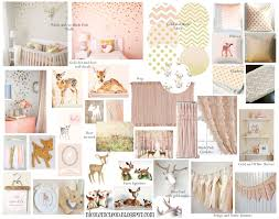 finding beauty in life blush pink and gold baby deer fawn