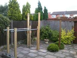 How To Build Backyard Fence How To Build A Homemade Outdoor Free Standing Pull Up Bar