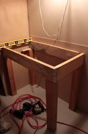 bathroom vanity woodworking plans free home design ideas