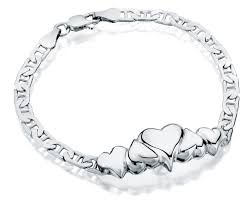 cremation jewelry bracelet 5 heart charm oval link sterling cremation jewelry bracelet for ashes