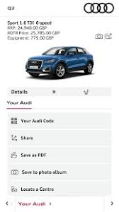 audi configurater audi configurator uk android apps on play