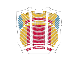 orchestra floor plan seating charts broadway at the eccles