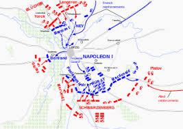 map of leipzig battle of leipzig