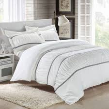 Ruffle Duvet Cover King Best Chic Bed Set Products On Wanelo
