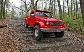 jeep gladiator 1963 jeep confirms wrangler pickup truck is coming onallcylinders