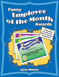 employee of the month certificate funny award certificates