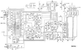 unit m890g digital multimeter sch service manual free download