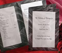 Diy Wedding Programs 5 Stylish Diy Wedding Programs Paperdirect Blog