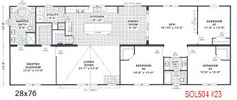 Double Wide Floor Plans With Photos Double Wide Floor Plans 5 Bedroom 3 Bath Modular Home Beauteous