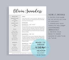 Creative Resume Headers Modern Cv Design Student Resume Cv Template Mac Creative