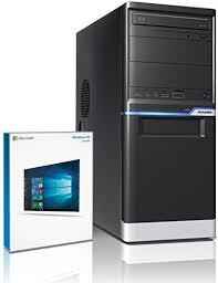 pc bureau multimedia shinobee pc gamer multimédia unité centrale pour ordinateur de