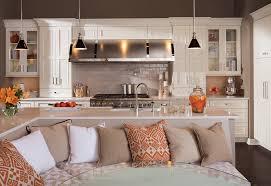 Distressed Island Kitchen by 100 Peninsula Island Kitchen Kitchen Island Modern