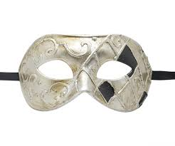 black masquerade masks silver and black masquerade mask