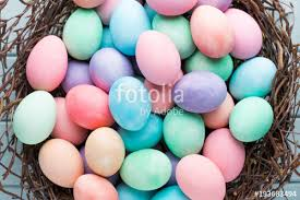 pastel easter eggs pastel easter eggs background greating card stock photo