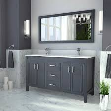 double sink vanity with middle tower charming double sink with vanity in middle images best inspiration