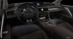 black lexus interior 2016 lexus rx 350 u0026 rx 450h preview lexus enthusiast