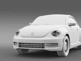 volkswagen beetle studio max 3d volkswagen beetle classic 2015 by creator 3d 3docean
