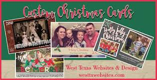 christmas cards west texas websites and design llc