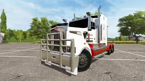 cost of new kenworth truck kenworth t908 for ls 17 farming simulator 2017 fs ls mod