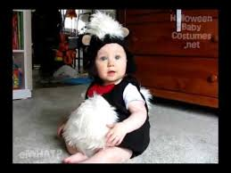 Infant Skunk Halloween Costume Funny Animal Baby Costumes Halloween 2010 Adorable Cute Babies