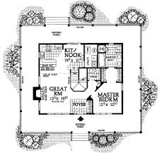 Floor Plans With Porches Farmhouse Style House Plan 3 Beds 2 5 Baths 1696 Sq Ft Plan 72