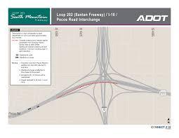 Phoenix Freeway Map by Adot Starts South Mountain Freeway Construction Phoenix Business
