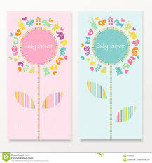 baby shower cards royalty free stock photo image 31093845