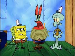 image spongebob mr krabs tied up u0026 squidward jpg