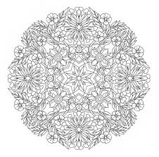 complex mandala coloring pages printable hard coloring pages